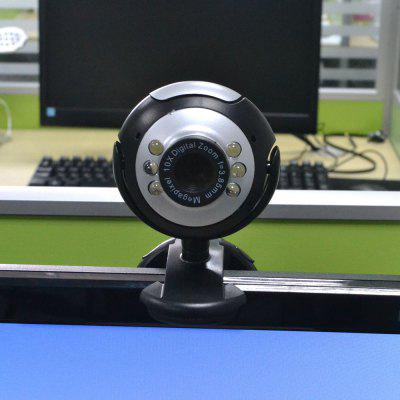 USB 12M HD Camera with Microphone 12 Mega Pixel Web Cam 6 LED HD Webcam Camera MIC FOR PC LAPTOP