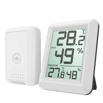 GearBest coupon: Weather Station Electronic Temperature Humidity Meter Wireless Thermometer Hygrometer Indoor Outdoor