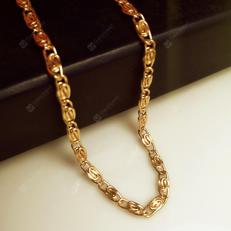 2 X Unisex 50cm Link Chains Necklace Stainless Steel Jewellery Findings