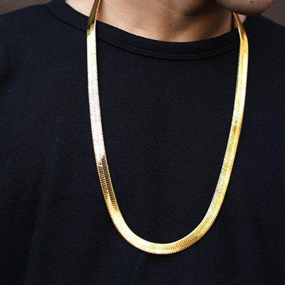 Herringbone Necklace Chain New Fashion Style Snake Chains Gold Chains Necklaces Jewelry