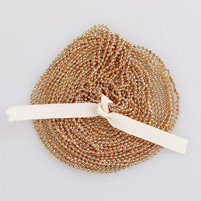 5m 1.5mm Metal Ball Bead Chain For Diy Jewelry Accessories