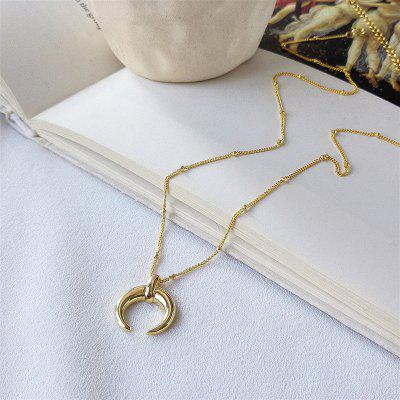Flyleaf 18k Real Gold Necklace 925 Sterling Silver Necklace For Women Fashion