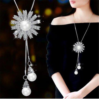 Femme Long Chain Necklaces with Pendants for Women