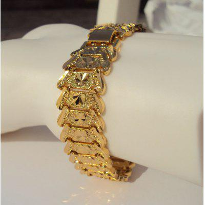 FASHIONABLE 22K 23K 24K THAI BAHT AIRPLANE YELLOW GOLD GP WIDER Chain