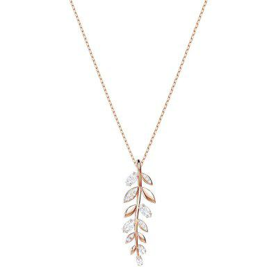 Fashion Simple Gold Chain Leaf Necklace Fashion Jewelry
