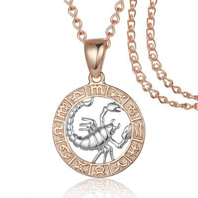 585 Gold Constellation White Pendants  Necklace Chain for Women Mens