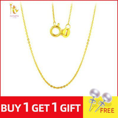 18K Gold Chain 18 inch Necklace for Women