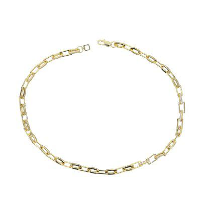 Hip Hop Long Chain Modern Cable Chain Necklace
