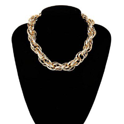 Gold Figaro Chain Necklace for Women Chunky Necklace Statement Choker Necklace
