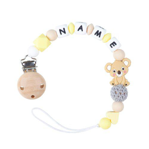Teether Baby Pacifier Chain Silicone BABY Teething Teether Pacifier Clip Toy