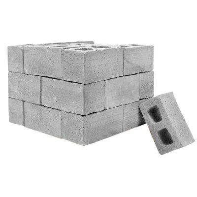 Teaching Class Wall Cement Toy 32Pcs Mini Cement Cinder Block Bricks Build Your Own Tiny Wall