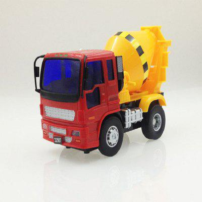 Engineering Vehicle Series Small Cement Mixer Truck Cement Tanker Truck Model