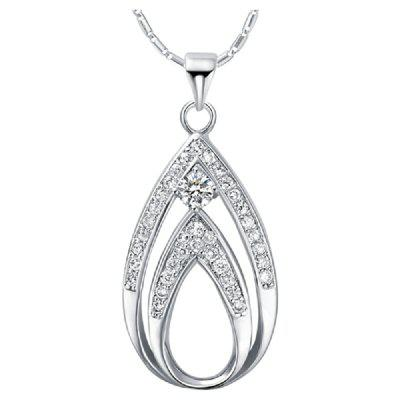 Vintage Necklace Pendant Platinum Chain For Women Women Chains Crystal Jewellery