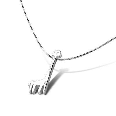 Delicate Tiny Cross Necklace for Women 925 Sterling Silver Short Chain Pendant Necklace