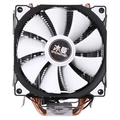 LED Case Fan 120mm Fans Silent Sleeve Bearing4pin Desktop PC Fan Computer Cooling Cooler CPU Cooler