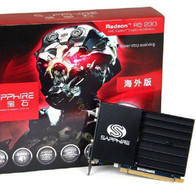 Sapphire R5 230 Graphics Card For Gaming 1066MHz 64Bit Desktop PC Video Card Discrete DVI VGA HDMI