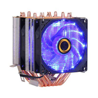 CPU Cooler High Quality 6 Heat-pipes Dual-tower Cooling 9cm RGB Fan Support 3 Fans 3Pin CPU Fan