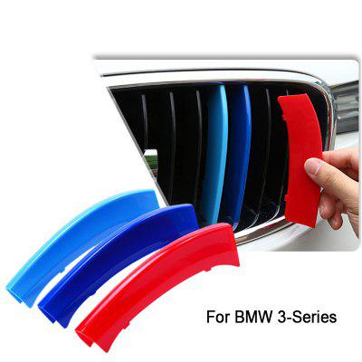 Car Front Grille Trim Strips Cover Stickers for BMW
