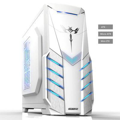 ATX Gaming Computer Case PC Gaming Tower Computer Box Micro-Atx Itx Transparent Panel Side