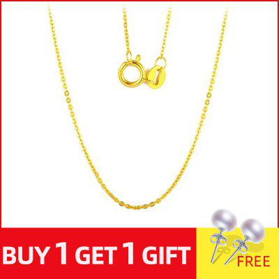 18K Gold Chain Price Necklace Pendant for Women