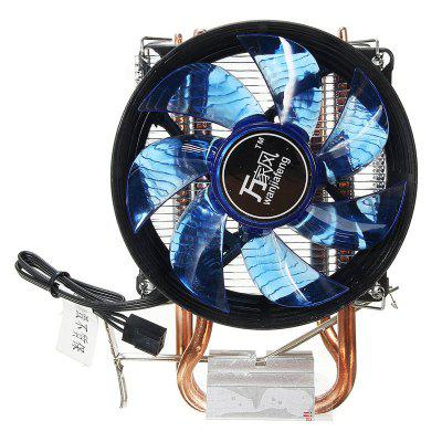 ED CPU Cooler Cooling Fan Quiet Fan Cooler Copper Heatsink