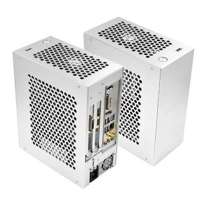 PC ITX MINI Gaming Small Case All Aluminum Suitcase Portable HTPC Desktop Computer Empty Chassis