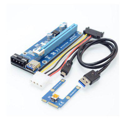 Mini PCIe to PCI express x16 Riser for Laptop External Graphics Card