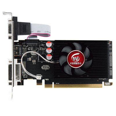 HD6450 GPU Veineda Desktop Graphics Cards hd6450 2GB DDR3 HDMI Graphic Video Card PCI Express