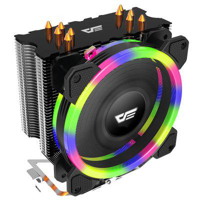 LED CPU Cooler Radiator TDP 285W Heat Sink 120mm 4Pin PC CPU Cooling Cooler Heatsink Fan