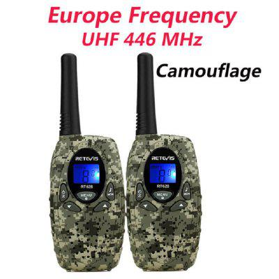 RT628 Mini Children Walkie Talkie Kids Two Way Radio 0.5W PMR UHF Freq Radio Station 2pcs