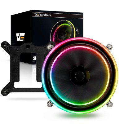 CPU Cooler 280W Cooling Double Ring LED Fan Radiator Cooler