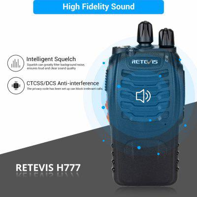 H777 Professional Walkie Talkie 3W UHF 2 Way Radio Walkie-Talkie Short Range Two Way Radio 2pcs