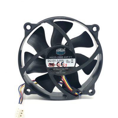 90MM 90x90x25mm Circular Fan 72mm Hole Pitch For 775 CPU Cooler Cooling Fan 12V 0.6A with PWM 4pin
