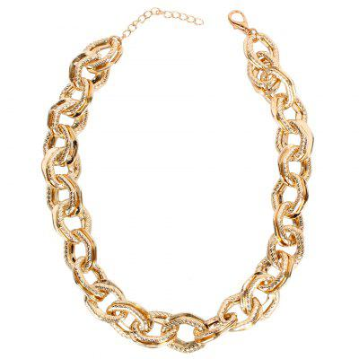 Fashion Necklace Choker Gold Chain for Lady