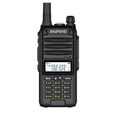 BF-UVF10 Long Range Walkie Talkie VHF UHF Dual Band Handheld Two Way Radio Portable 2 Way Radio