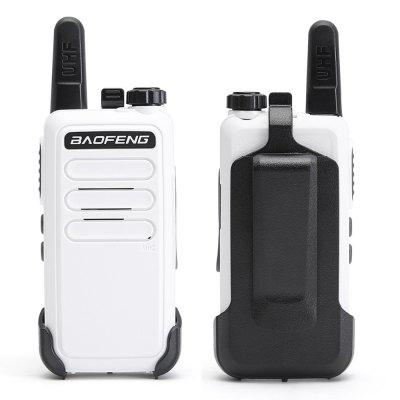 Bf-C9 Hunting Mini Walkie Talkie USB Charge Handheld Two Way Radio for Hiking Mountains 2pcs