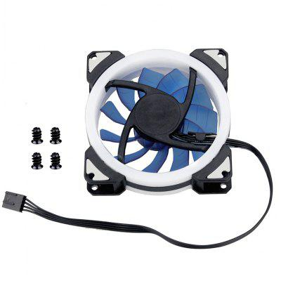 90mm LED Light 4PIN 3PIN PC Desktop Computer Case Cooling Cooler Fan