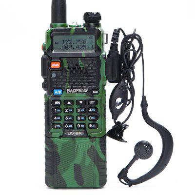 UV-5R Dual Digital Display Walkie Talkie Military Tactical Style Two Way Radio for Adults Outdoor