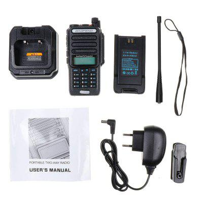 UV9R-ERA Professional Walkie Talkie 15km Long Range Two Way Radio VHF UHF Dual Band Radio