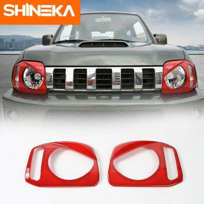 Car Front Fog Light HeadLight Lamp Protection Cover Sticker for Suzuki Jimny