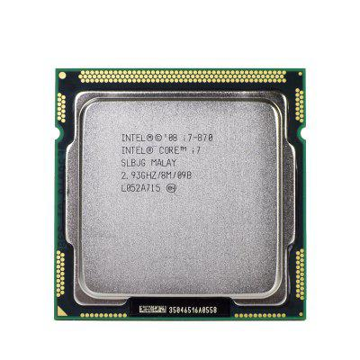 Original Intel Core i7 870 Processor Quad Core 2.93GHz 95W LGA 1156 8M Cache Desktop CPU