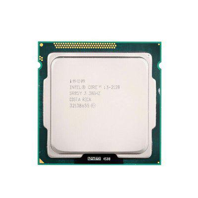 Dual Core Socket 1155 65W Desktop CPU for Intel Core i3 2120 Processor 3.3GHz 3MB Cache