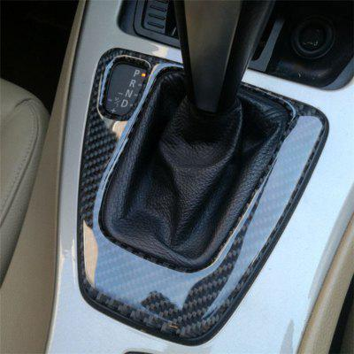 Carbon Fiber Gear Shift Control Panel Cover Sticker
