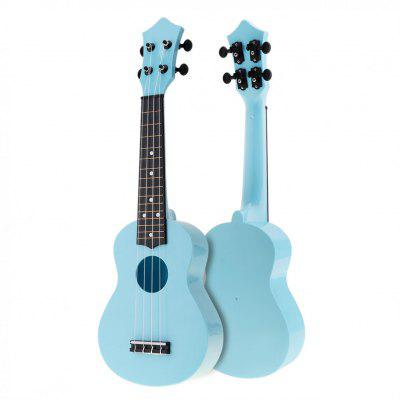 21 Inch Colorful Acoustic Ukulele Uke 4 Strings Hawaii Guitar Guitarra Musica Instrument