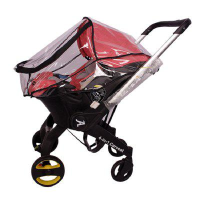 Baby Stroller Accessories Rain Cover of High View Pram Baby Car Seat Raincoats
