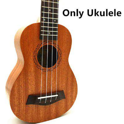 23 inch Concert Ukulele 4 AQUILA Strings Hawaiian Mini Guitar Uku Acoustic Guitar Ukelele