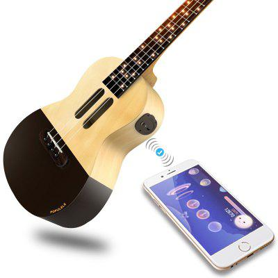 Smart Ukulele Concert Soprano 4 Strings 23 Inch Acoustic Electric Guitar