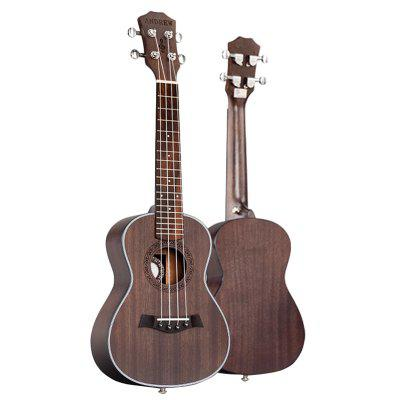 Ukulele Concert 23 Inch 4 Strings Guitar Mahogany Wood Matte Stringed Hawaiian Guitar