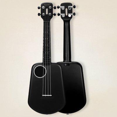 2 LED Smart Soprano Ukulele Concert Bluetooth Ukulele 4 Strings 23 Inch Electric Guitar