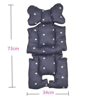 Baby Strollers Seat Pad Cotton Soft Car Seat Cushion Trolley Accessories